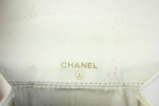 Chanel CC White Caviar Wallet 4CCDG6717