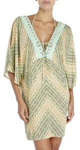 Nanette Lepore Paso Robles Embellished Cover Up Tunic Dress Size S