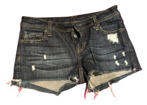Genetic Denim Festival Retro Cut Off Shorts Denim