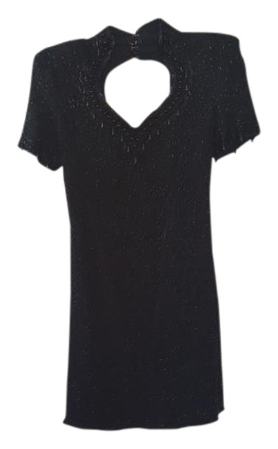 Preload https://img-static.tradesy.com/item/21563794/scala-black-sequin-mid-length-cocktail-dress-size-petite-4-s-0-1-650-650.jpg