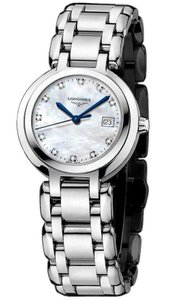 Longines New Ladies Longines Prima Luna L81104876 MOP Diamond Steel