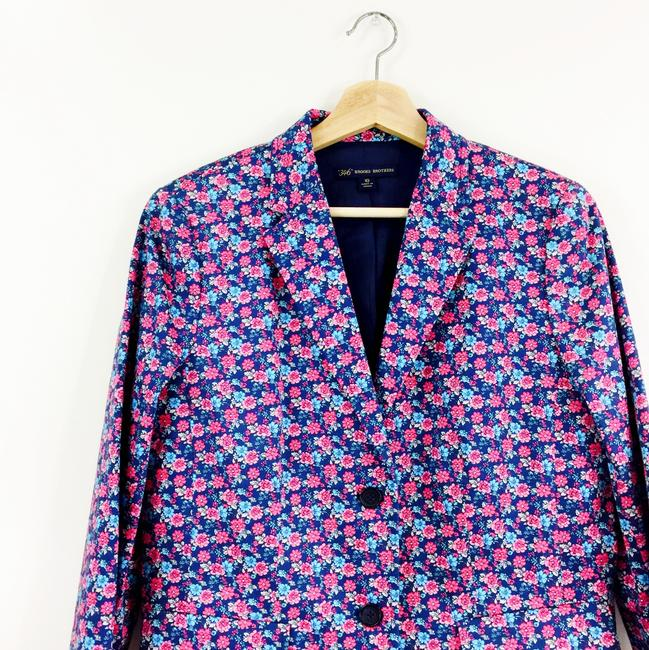 Brooks Brothers Liberty Of London pink and blue floral Blazer