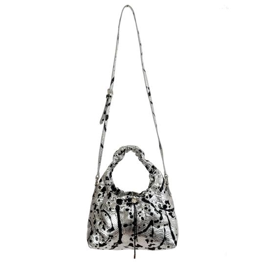 Preload https://img-static.tradesy.com/item/21564095/maison-margiela-11-women-s-sparkle-handbag-shoul-silver-black-python-skin-leather-shoulder-bag-0-0-540-540.jpg