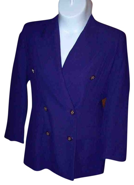CLARA CLARA PURPLE BLUEISH Blazer