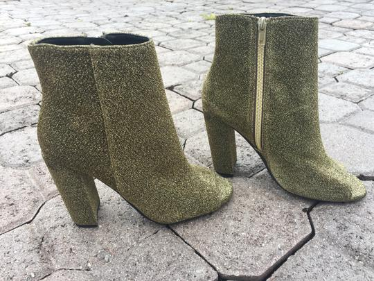 Steve Madden Sparkling Gifts For Her Sock Sage green glitter Boots