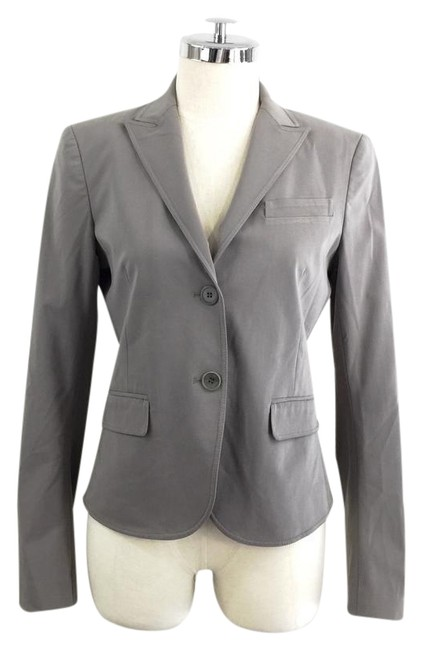 Preload https://item2.tradesy.com/images/theory-grey-medium-double-button-blazer-size-8-m-21564281-0-1.jpg?width=400&height=650
