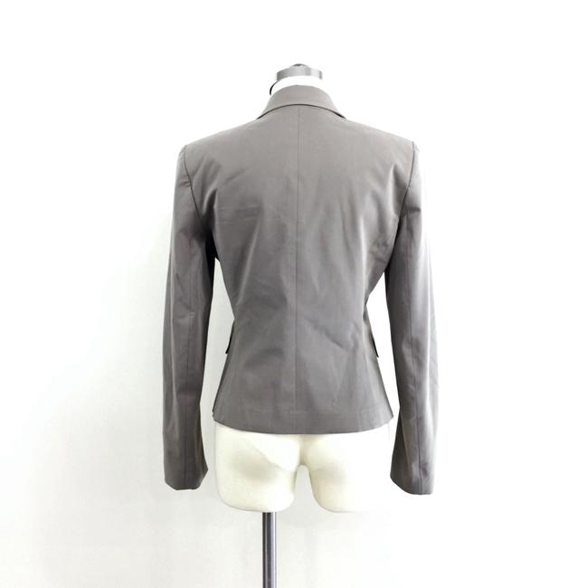 Theory Double Button Classic Vent Grey Blazer