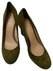 Tory Burch Forest green Wedges