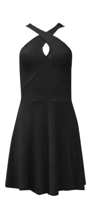 DREW short dress Black on Tradesy