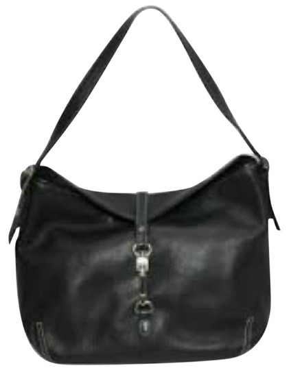 Preload https://item2.tradesy.com/images/coach-j30-9266-black-leather-shoulder-bag-21564506-0-1.jpg?width=440&height=440
