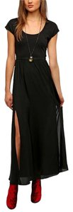 Black Maxi Dress by Urban Outfitters Maxi Summer Resort Vacation