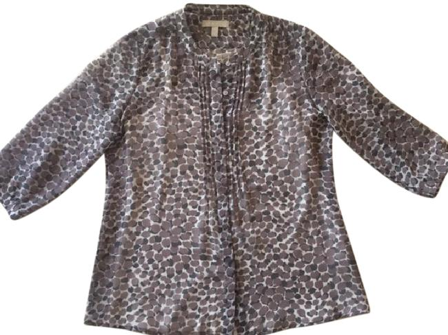 Preload https://item4.tradesy.com/images/banana-republic-taupegray-printed-sheer-with-detachable-tank-blouse-size-petite-4-s-21564653-0-2.jpg?width=400&height=650