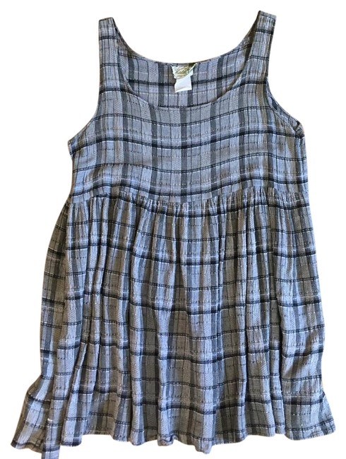 Preload https://item3.tradesy.com/images/reformation-grey-black-taupe-plaid-babydoll-short-casual-dress-size-6-s-21564677-0-2.jpg?width=400&height=650