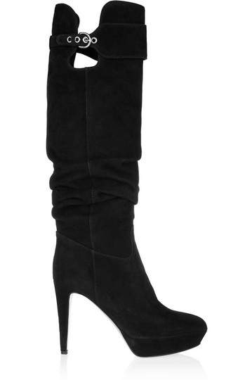 Sergio Rossi NAVY BLUE (ALMOST BLACK) Boots