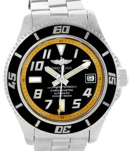 Breitling Breitling Superocean 42 Abyss Black Yellow Dial Automatic Watch A17364