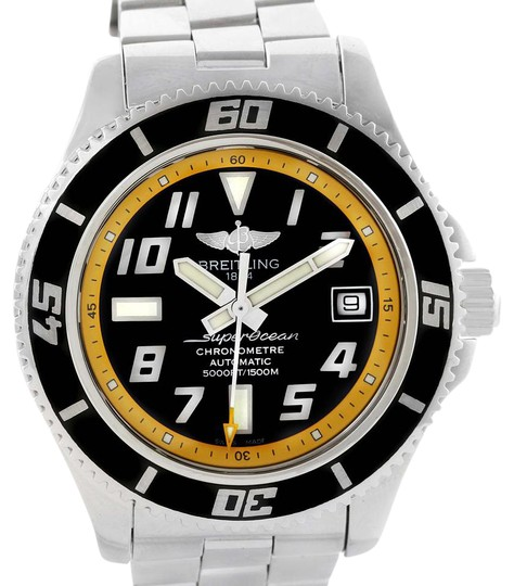 Preload https://item4.tradesy.com/images/breitling-black-superocean-42-abyss-yellow-dial-a17364-watch-21564793-0-2.jpg?width=440&height=440