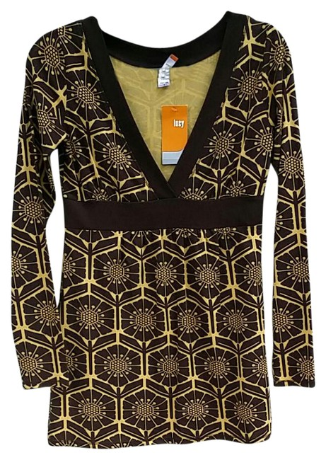 Preload https://item2.tradesy.com/images/lucy-browngold-starflower-tunic-size-6-s-21564801-0-1.jpg?width=400&height=650