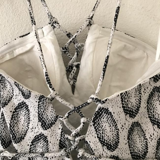 Banana Republic short dress White/Black on Tradesy