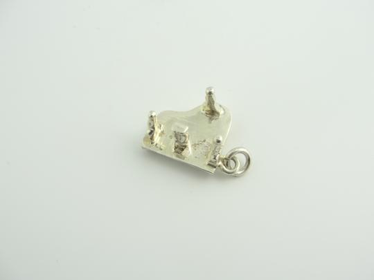 Other Grand Piano Bracelet Charm- Sterling Silver