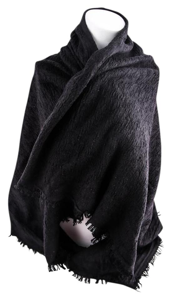 175f82f606 Black Scarf/Wrap