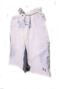 Under Armour White * Shorts Tuxedo