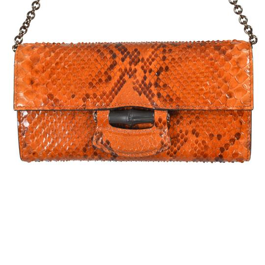 Gucci Orange Clutch