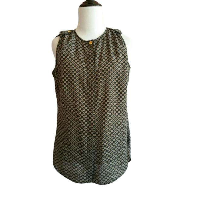 Preload https://img-static.tradesy.com/item/21565215/michael-kors-blue-and-brown-sleeveless-polyester-button-down-top-size-2-xs-0-2-650-650.jpg