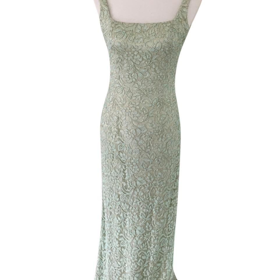 Mint Green Gown With Shrug Long Formal Dress Size 4 S Tradesy
