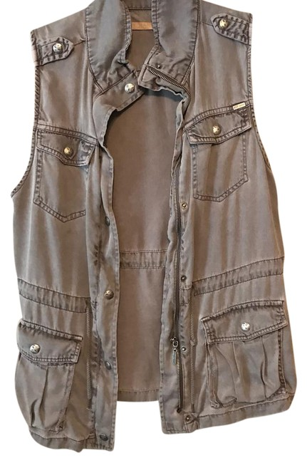 Preload https://item3.tradesy.com/images/max-jeans-gray-soft-utility-vest-size-4-s-21565282-0-2.jpg?width=400&height=650