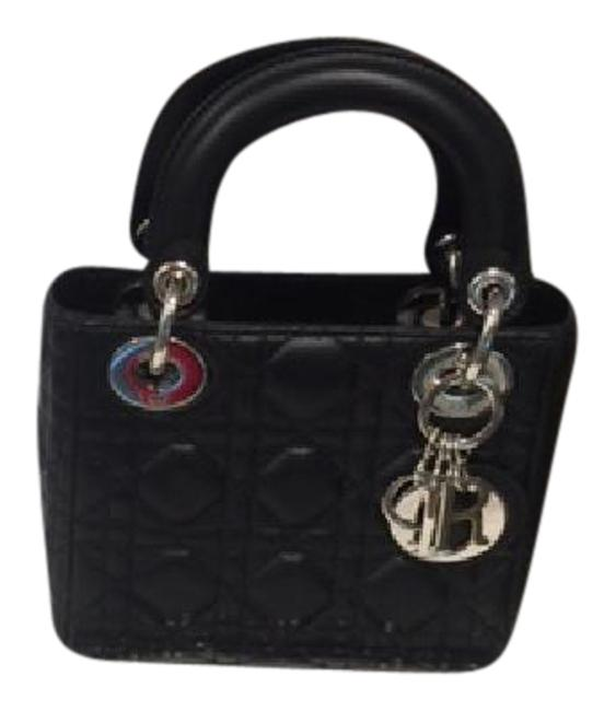 Item - Lady Mini In - Limited Edition Black Lambskin Leather Cross Body Bag