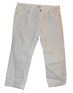 Ann Taylor LOFT Capri/Cropped Denim-Light Wash