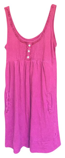Preload https://item3.tradesy.com/images/aerie-fuchsia-comfy-short-casual-dress-size-8-m-21565522-0-2.jpg?width=400&height=650