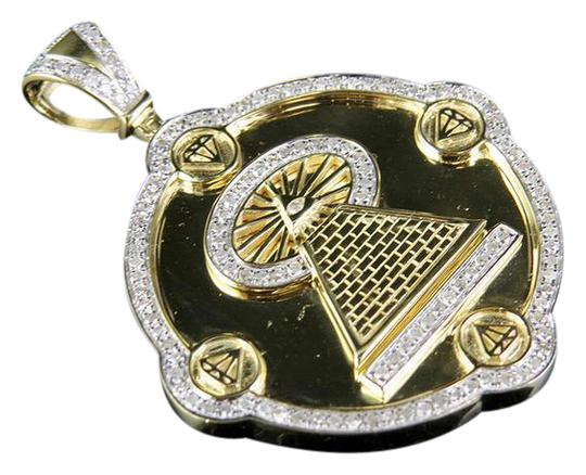 Preload https://item5.tradesy.com/images/10k-yellow-gold-real-diamond-illuminati-all-seeing-eye-pendant-710-ct-charm-21565579-0-2.jpg?width=440&height=440