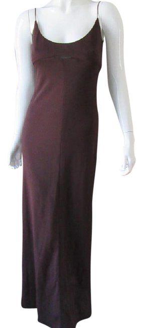 Preload https://item5.tradesy.com/images/elie-tahari-brown-minimalist-gown-long-formal-dress-size-6-s-21565644-0-3.jpg?width=400&height=650
