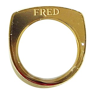 FRED Fred Mini Success Ring 18 Karat Yellow Gold