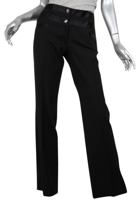 Preload https://item1.tradesy.com/images/dolce-and-gabbana-black-satin-striped-two-button-classic-trousers-straight-leg-pants-size-6-s-28-21565775-0-2.jpg?width=400&height=650