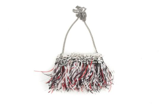 Chanel Feathered Purse Cross Body Bag