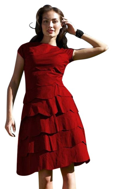 Preload https://img-static.tradesy.com/item/21565879/shabby-apple-red-fox-tiered-scallop-mid-length-workoffice-dress-size-00-xxs-0-2-650-650.jpg
