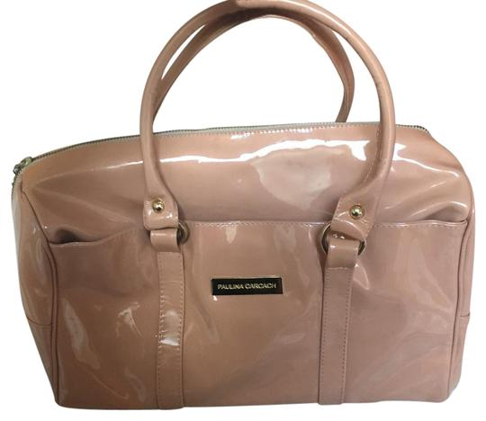 Preload https://item3.tradesy.com/images/pink-nude-patent-leather-satchel-21566042-0-2.jpg?width=440&height=440