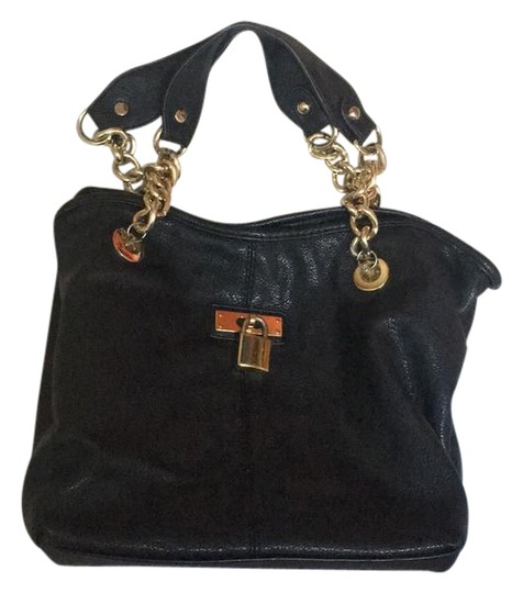 Preload https://item3.tradesy.com/images/aldo-small-with-gold-chain-handles-black-faux-leather-satchel-21566197-0-2.jpg?width=440&height=440
