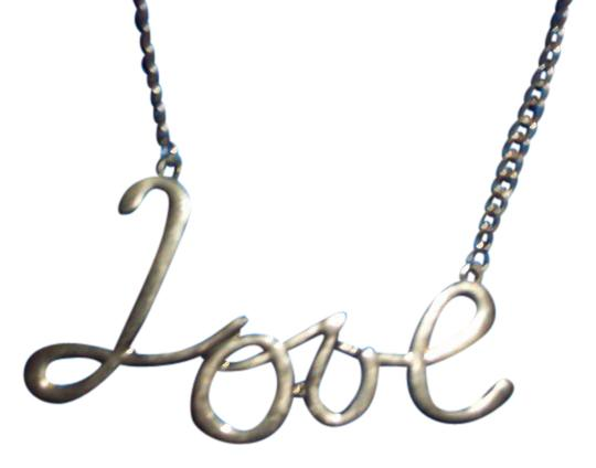Preload https://item1.tradesy.com/images/gold-tone-16in-love-necklace-21566225-0-2.jpg?width=440&height=440