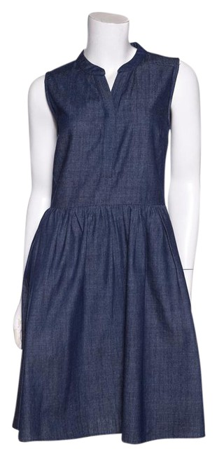 Preload https://item1.tradesy.com/images/barneys-new-york-denim-sleeveless-short-casual-dress-size-6-s-21566235-0-2.jpg?width=400&height=650