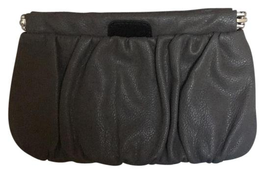 Preload https://item1.tradesy.com/images/mango-open-closure-gray-faux-leather-clutch-21566245-0-2.jpg?width=440&height=440