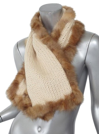 Preload https://img-static.tradesy.com/item/21566267/dolce-and-gabbana-classic-cream-woolcashmere-knit-rabbit-fur-trim-scarfwrap-0-2-540-540.jpg