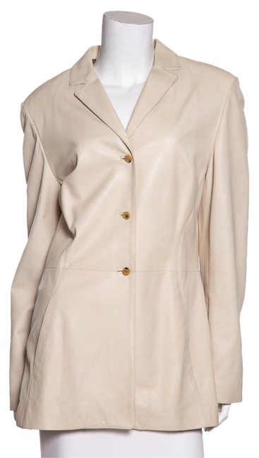 Salvatore Ferragamo Cream Jacket