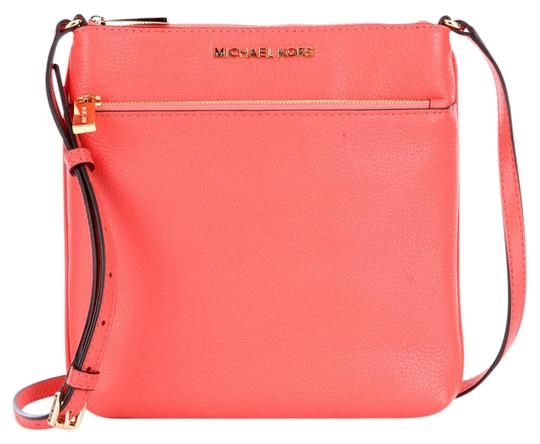 Preload https://item1.tradesy.com/images/michael-kors-pinkish-tone-leather-cross-body-bag-21566325-0-2.jpg?width=440&height=440