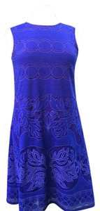 Max Studio Flare Scalled Cut Stretchy Dress