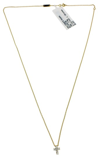 Van Cleef & Arpels Chimento Desiderio pave diamond necklace in 18k yellow & rose gold