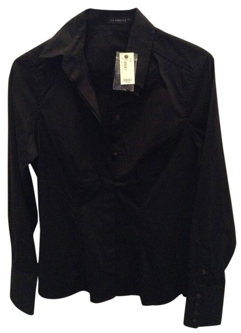 Preload https://item5.tradesy.com/images/the-limited-black-dress-shirt-button-down-top-size-4-s-2156649-0-0.jpg?width=400&height=650
