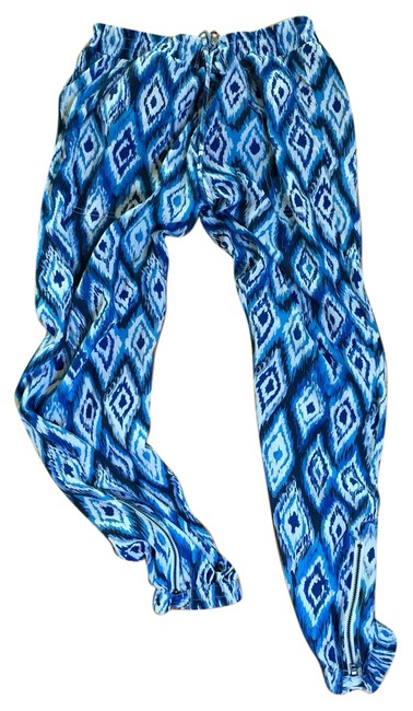 Go Silk Lounge Relaxed Pants blue